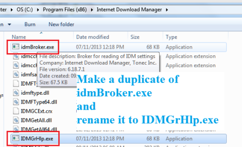 How to remove 'IDM has been registered with the fake