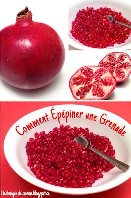 1 recette 1 minute comment extraire le jus d 39 une grenade - Grenade fruit comment manger ...