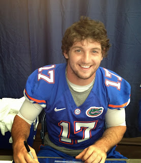 Skylar Mornhinweg is an ex-Florida QB.