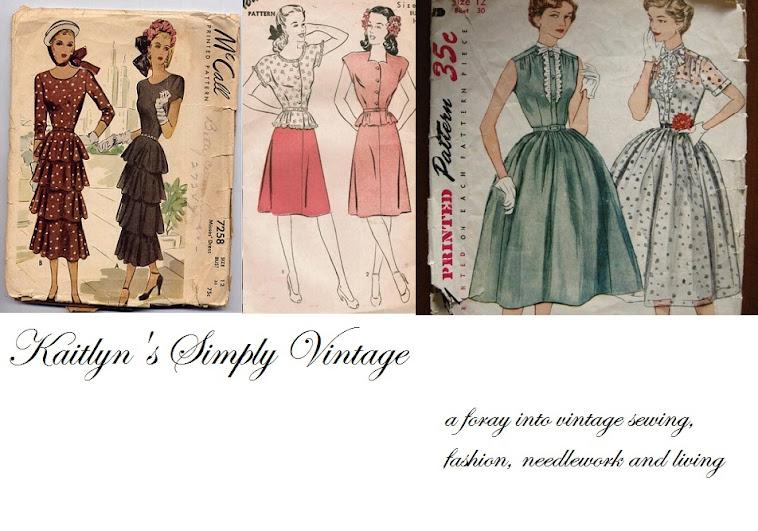 Kaitlyn's Simply Vintage