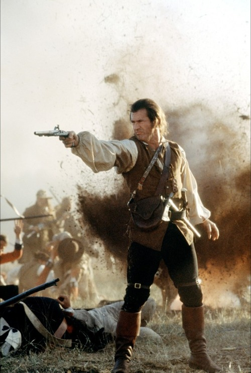 Picture of Mel Gibson's character in the movie The Patriot