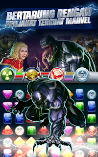 Marvel Puzzle Quest v90.315429 Apk+Data (Unlimited Money)