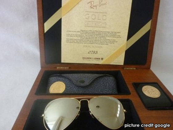 ray ban sunglasses made in usa  All About Rayban Made in USA: RAY BAN GOLD 14K ANTARA RAY BAN TERBAIK