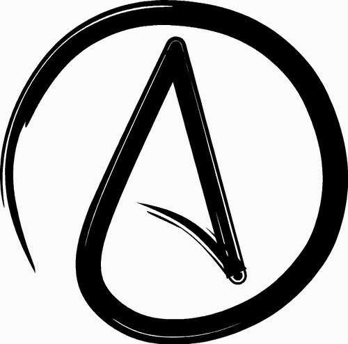 image taken from: https://en.wikipedia.org/wiki/File:Atheist_symbol.jpg
