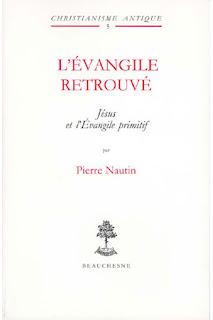 L'Evangile retrouvé éditions Beauchesne