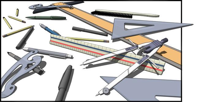 Dibujo Tcnico Instrumentos que se Utilizan en Dibujo Tcnico