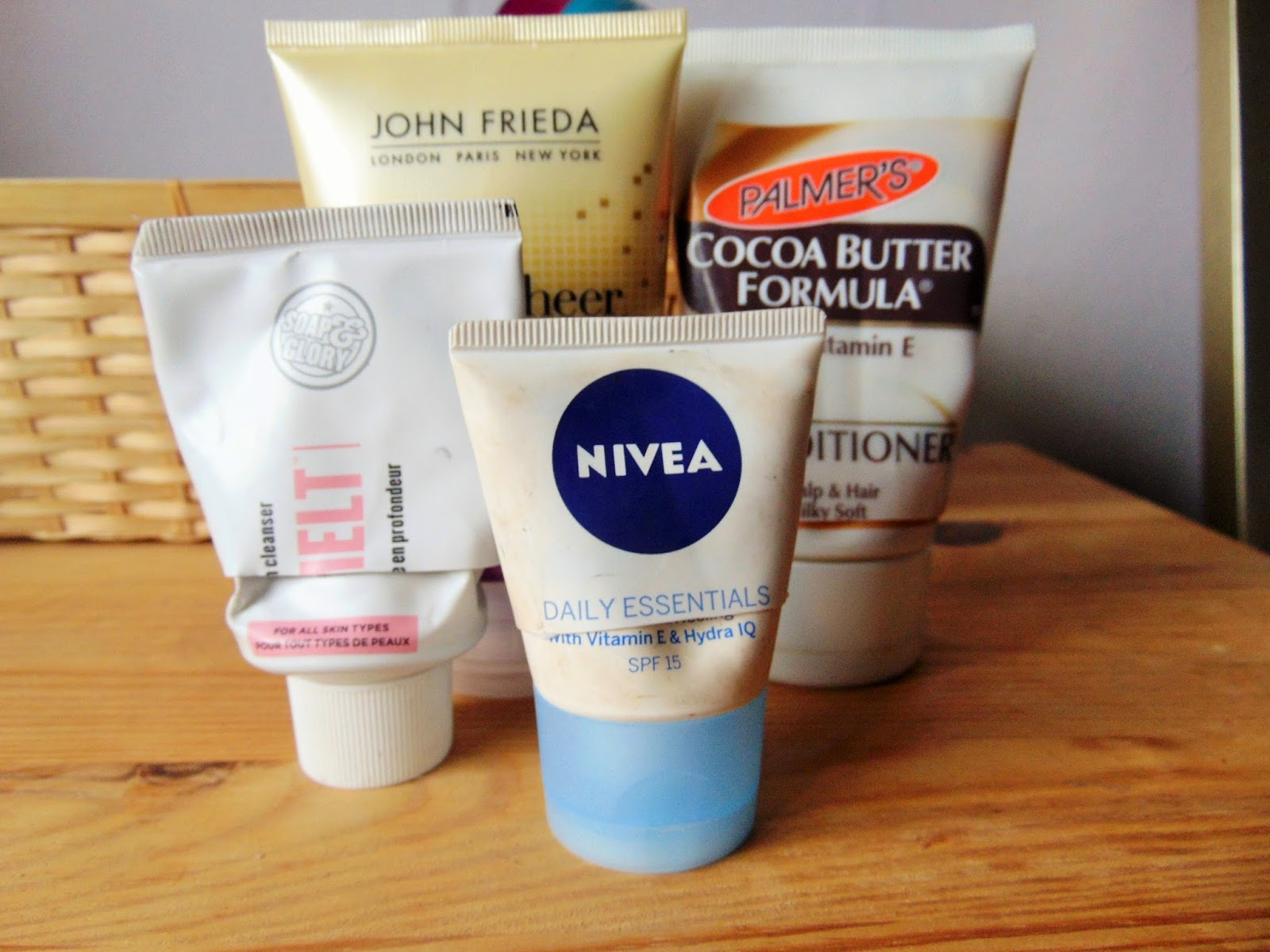 tip of the week how not to waste product nivea soap and glory john frieda palmers cocoa butter formula