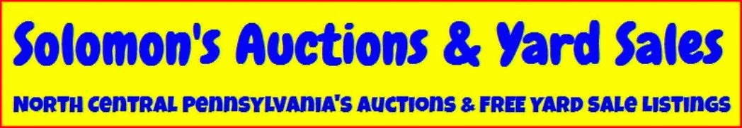 Auction & Yard Sale Page