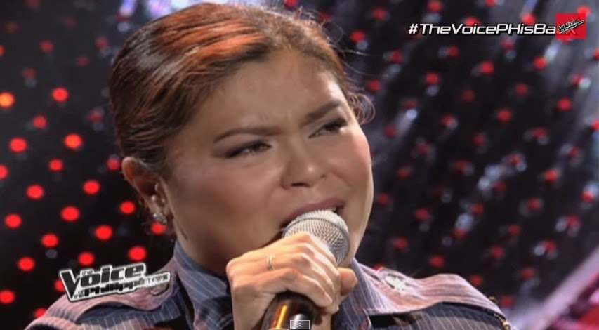"Policewoman belts out ""Tukso"" on ""The Voice of the Philippines"" Season 2 Blind Auditions"
