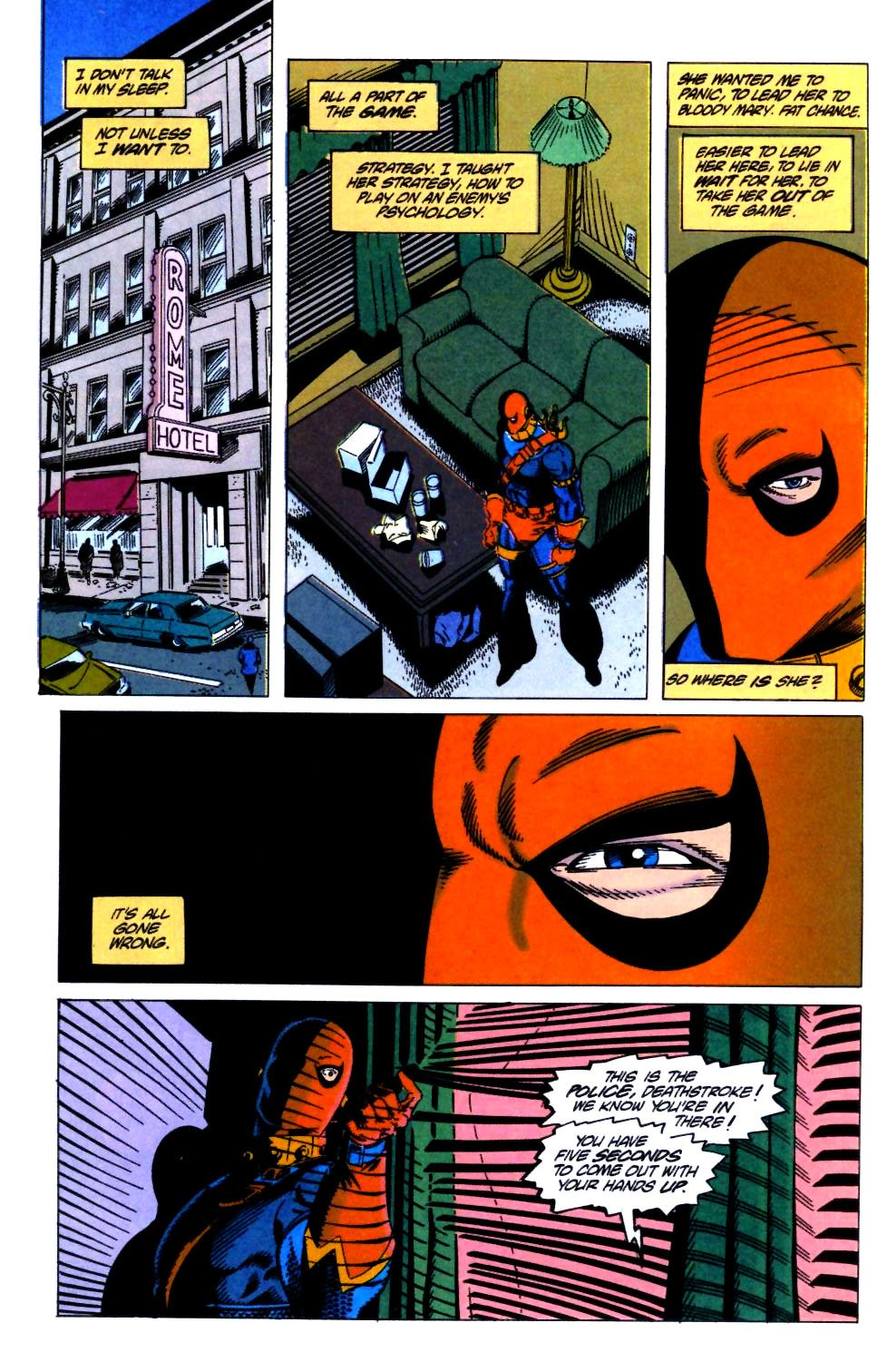Deathstroke (1991) Issue #21 #26 - English 17