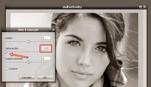 Transformando foto em desenho photoshop online 97