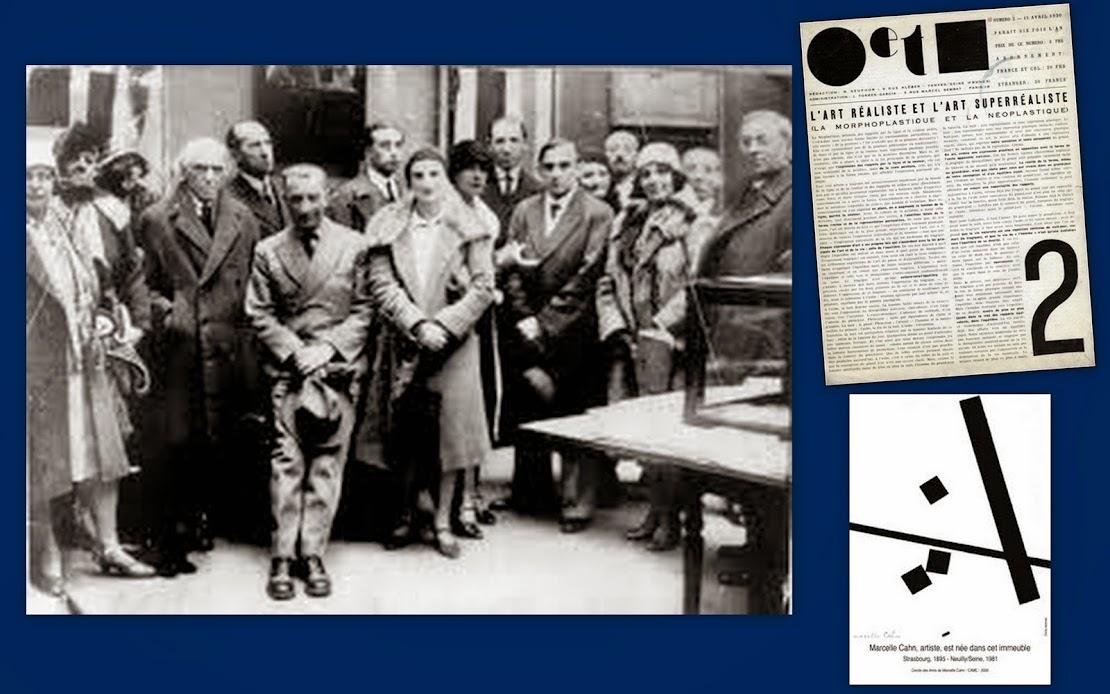 GRUPO (INTERNACIONAL PARISIENSE DO) CÍRCULO E QUADRADO [CERCLE ET CARRÉ] (Paris, 1929-1931).