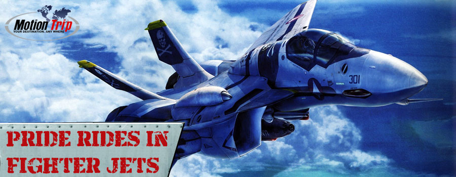 Motion Trip offers pride rides in Supersonic Fighter Jets - MiG 29, MiG 31, L39.