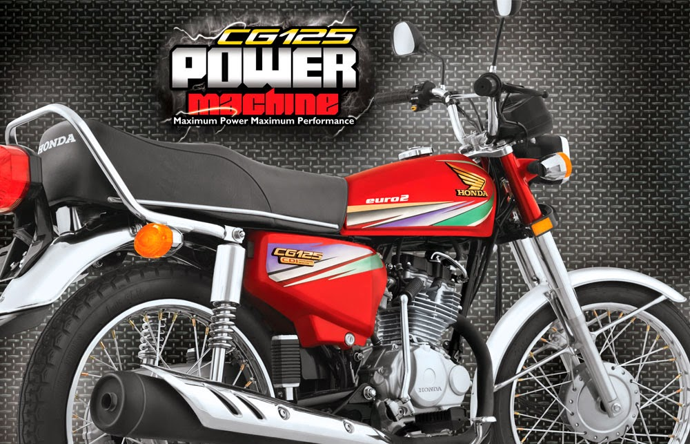 Pakistani Prices: HONDA CG 125 2014 MODEL PRICE IN PAKISTAN