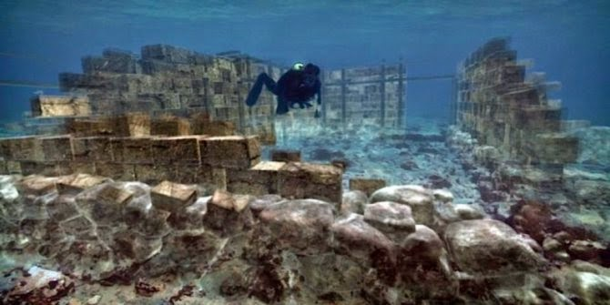 Kota Kuno Bawah Air