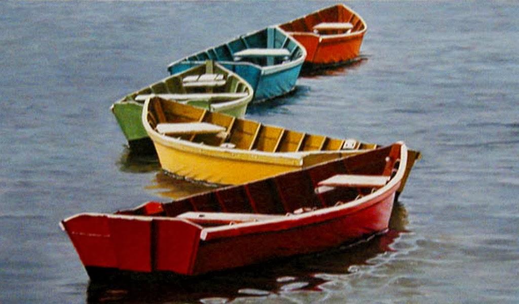cuadros-marinos-con-lanchas-pintados