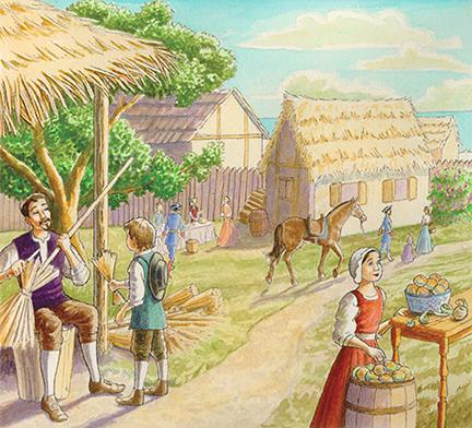 colonial life essay