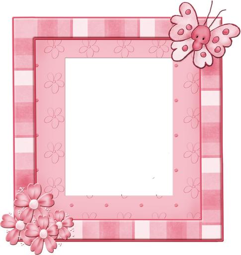 mariposas y flores infantiles marcos baby shower para imprimir fiesta ...