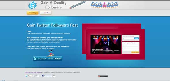 Auto Followers Twitter 2013 Terbaru