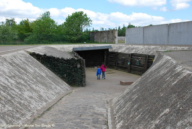 Execution trench Sachsenhausen Concentration Camp