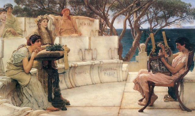 Lawrence Alma Tadema,paintings, cool