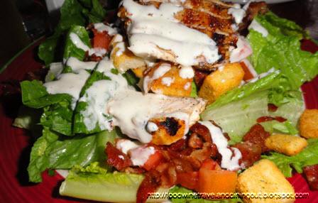 rivertown alehouse chicken blt salad chicken blt salad tender grilled ...