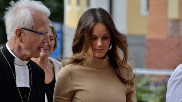 King Carl Gustaf, Princess Sofia And Prince Carl Philip in Uppsala