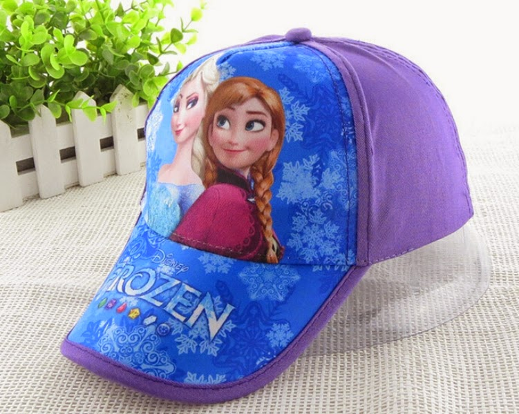 Topi frozen untuk anak gratis