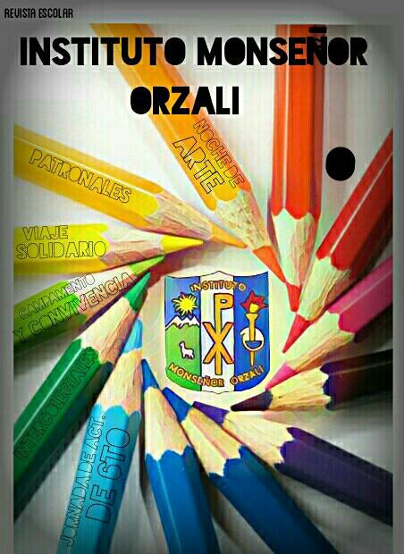 Revista Escolar creada por alumnos del IMO y el Area de Informática
