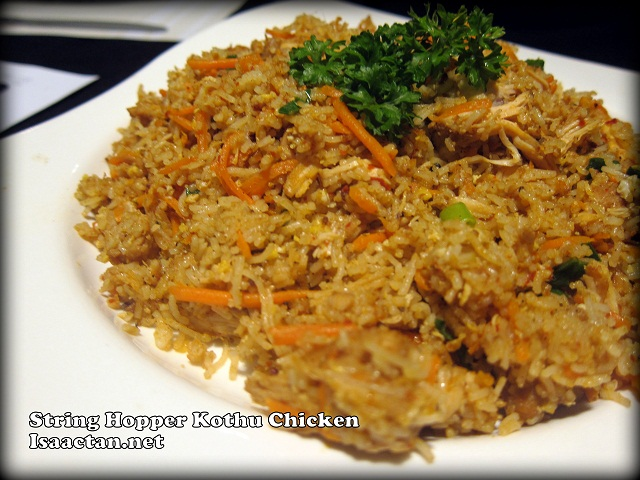 String Hopper Kothu Chicken