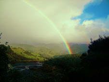 Rainbow over the Makaroro