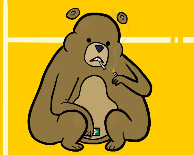 oso bailarín pequeño