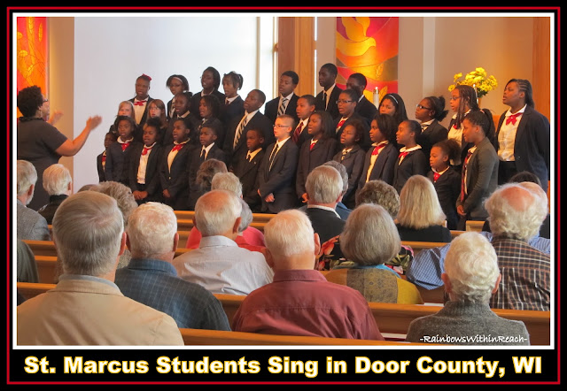 photo of: St. Marcus, Milwaukee Students Sing in Door County, WI