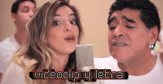 Apolo feat Dalma Maradona y Diego Maradona - Gritándole al viento
