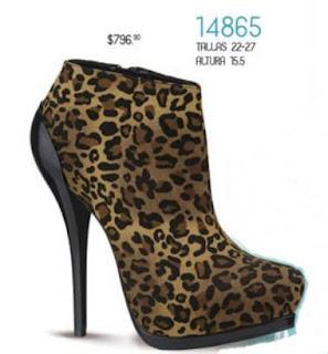 calzado de Andrea animal print