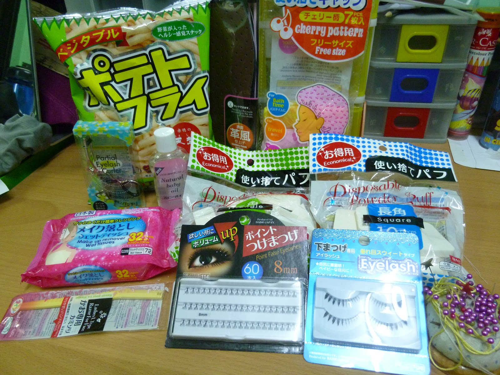 Unleash the Switch girl in you: DAISO HAUL  The Good and The Bad
