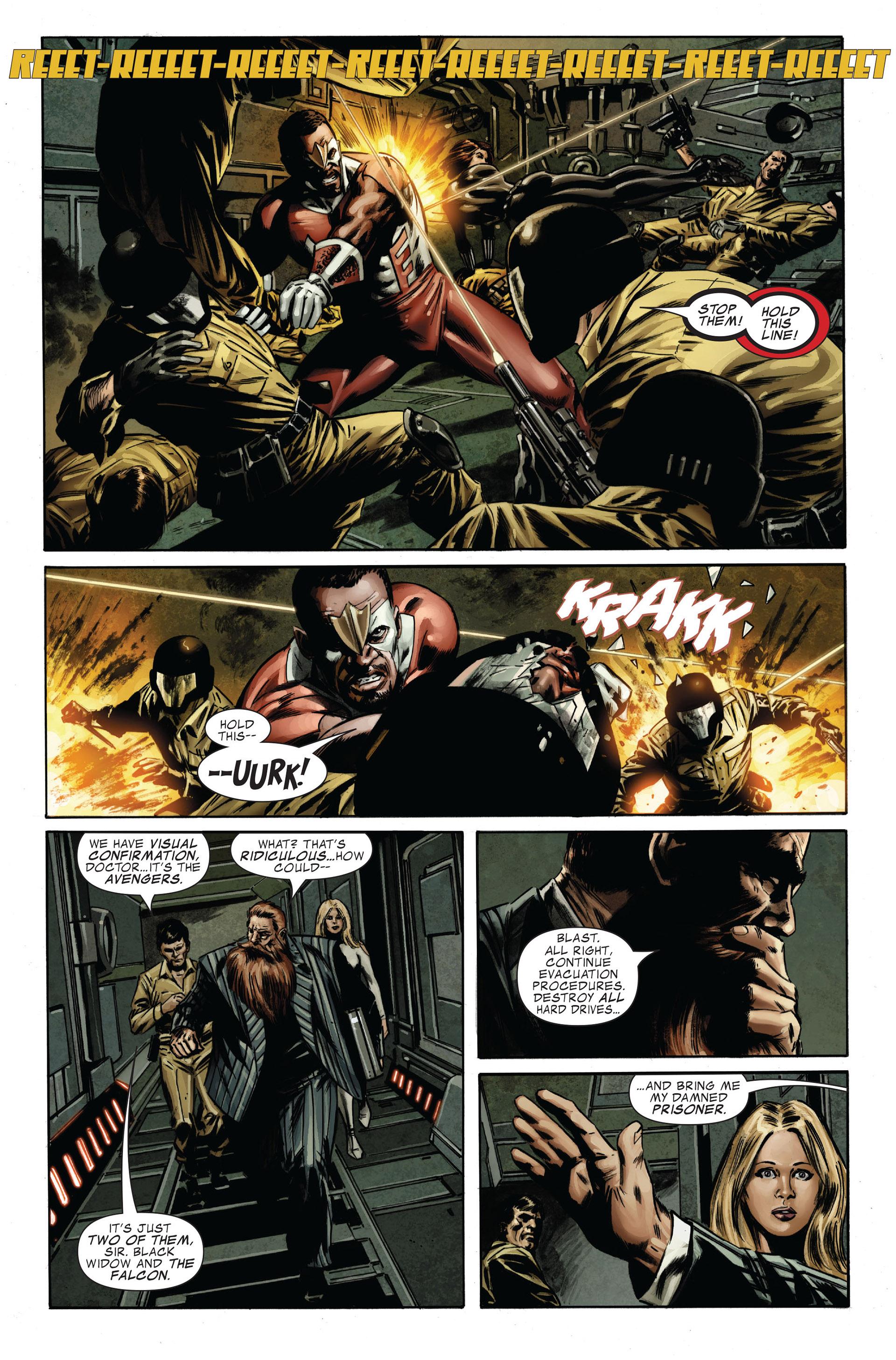 Captain America (2005) Issue #32 #32 - English 12
