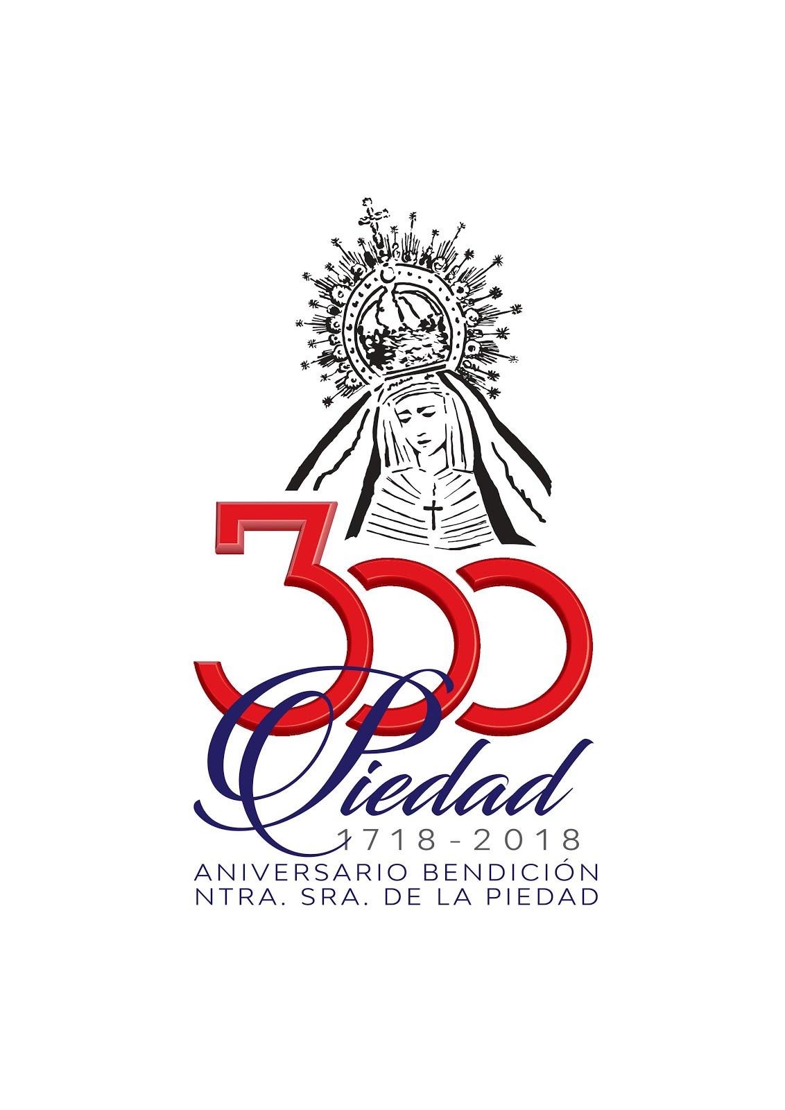 Logo de los 300 años de Piedad