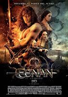 cartel de la película Conan el bárbaro