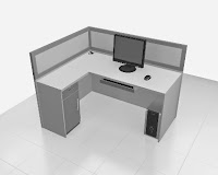 furniture kantor semarang - desain meja sekat kantor 01