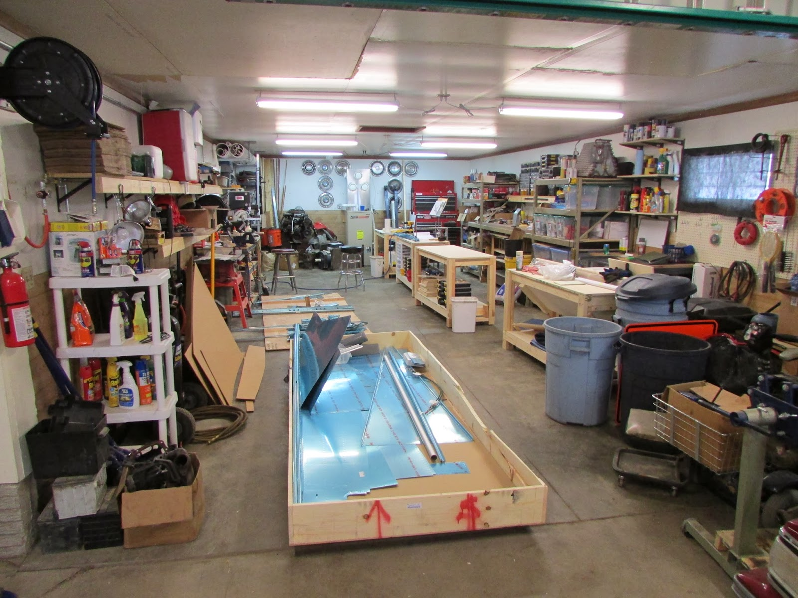 Mike And Sarah Build An RV 10 Garage Layout