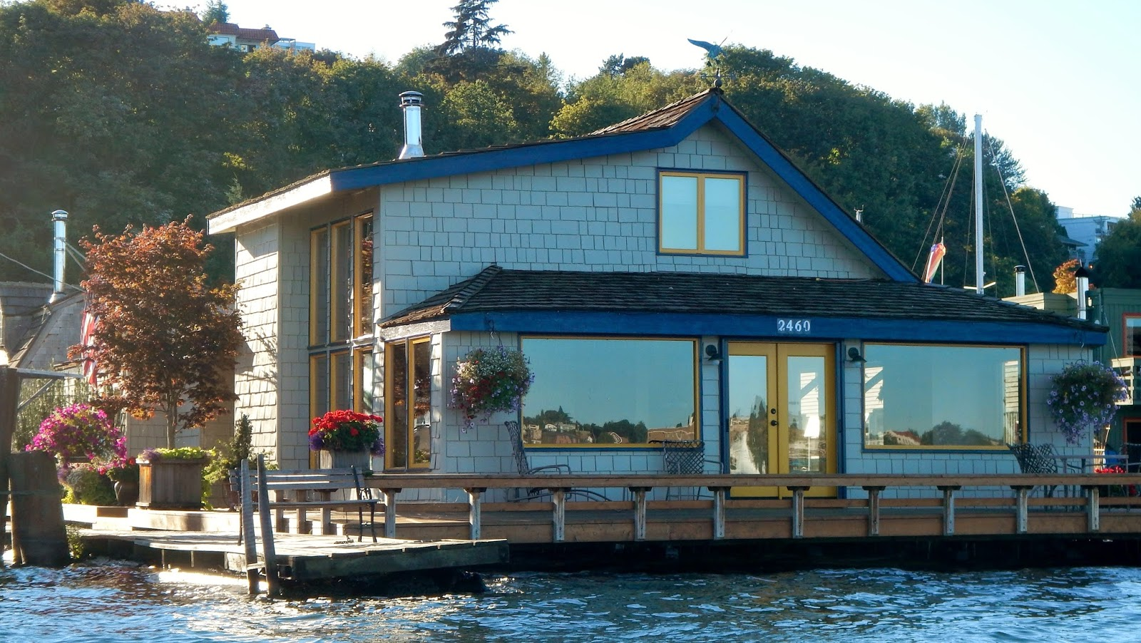 Tom Hanks's houseboat in Sleepless in Seattle