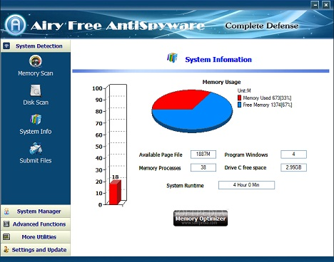 تحميل برنامج Airy Free AntiSpyware مجانا