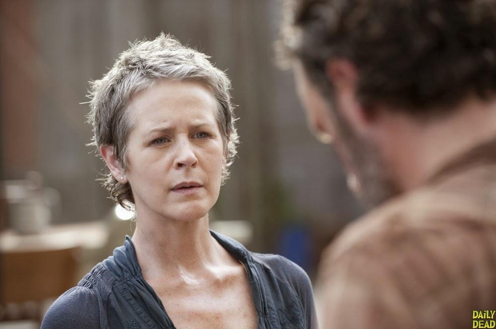 Carol en The Walking Dead 4x03 - Isolation
