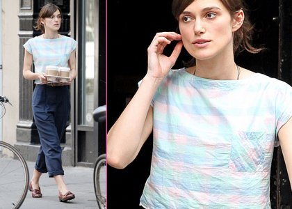 Keira Knightley Films 'Can A Song Save Your Life' In NYC » Gossip