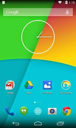 KK Launcher Prime kitkat for android