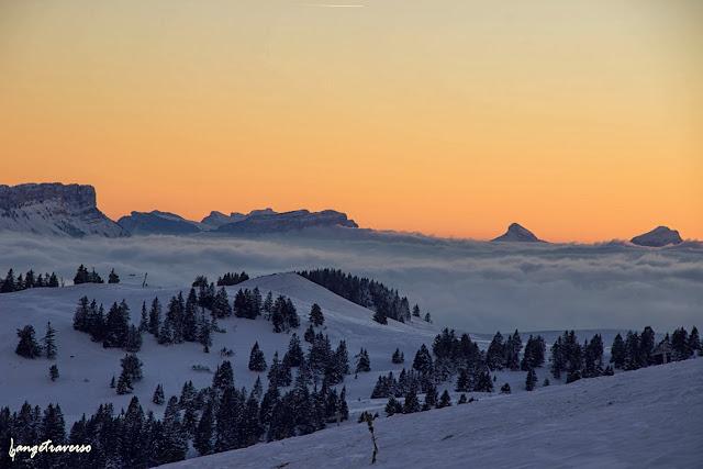 Massif des Bauges, Haute-Savoie, Rhone Alpes