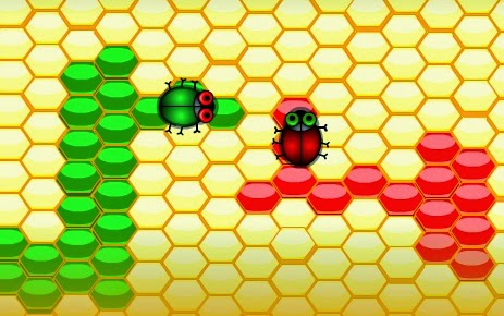 Игра на двоих - Медогонка
