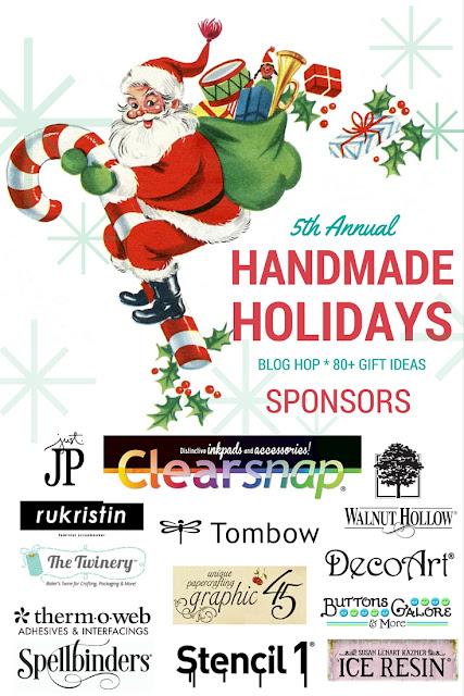 Handmade Holidays Blog Hop Sponsors 2015