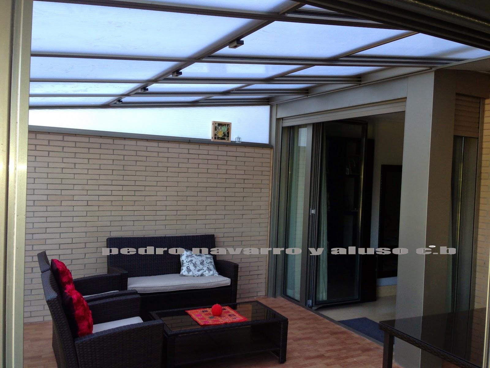 Techos moviles pedro navarro y aluso techos moviles policarbonato - Techos moviles para terrazas ...